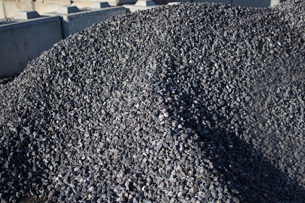 Ballast rock